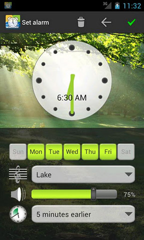 die besten wecker apps f r android alarm wecker 24android. Black Bedroom Furniture Sets. Home Design Ideas