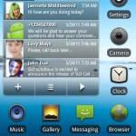 SUI SMS Widget