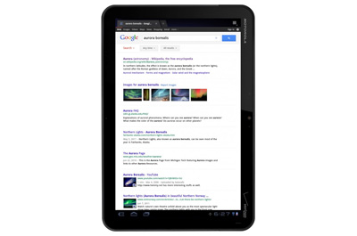 Google Tablet Web Suche Teaser