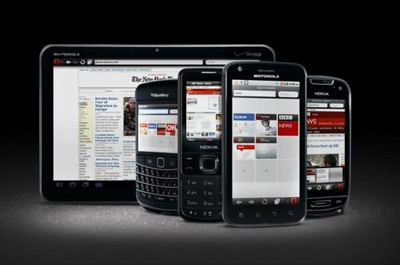 Opera Mobile Webbrowser