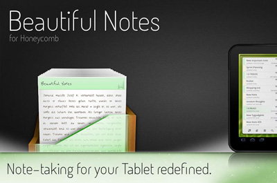 Beautiful Notes for Honeycomb