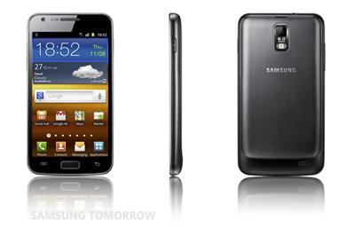 Samsung Galaxy S 2 LTE Teaser