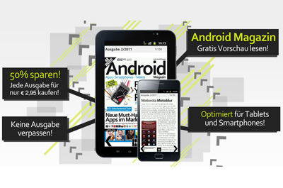 Android Magazin Teaser