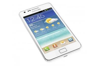 Samsung Galaxy S 2 weiß Teaser