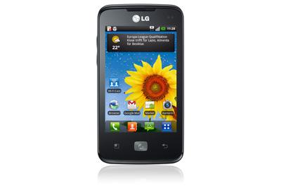 LG Optimus Hub Teaser