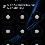 Lockscreen Calendar
