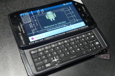 Motorola Milestone 4 Teaser