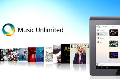 Music Unlimited Tablet App Teaser