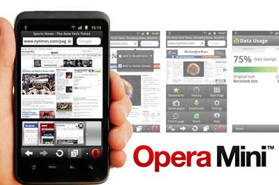 Opera Mini Teaser