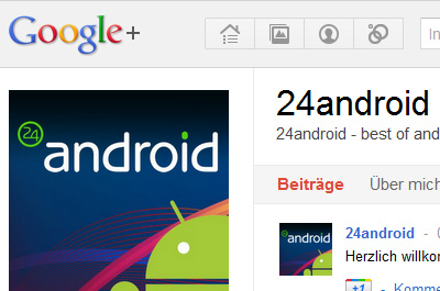 24android bei Google Plus