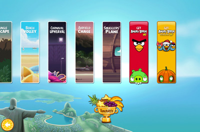 Angry Birds Rio Smugglers' Plane Teaser