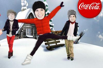 Coca-Cola Schneekugel Teaser