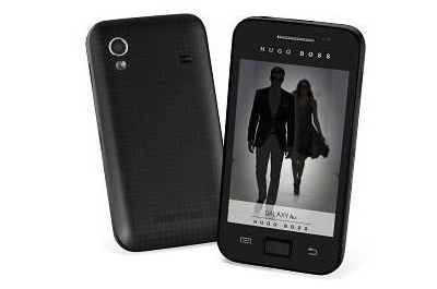 Samsung Galaxy Ace Hugo Boss Teaser