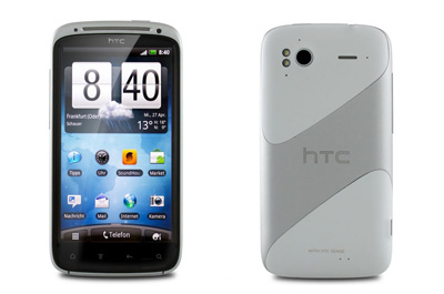 HTC Sensation weiß Teaser