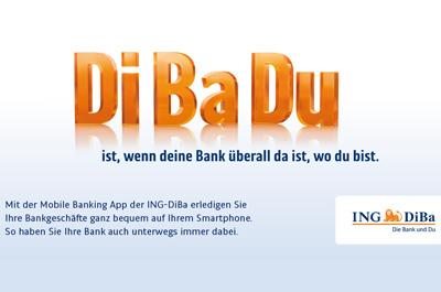ING-DiBa Mobile Banking Teaser