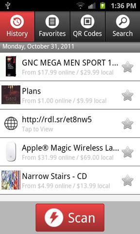 Welcher barcode scanner android ist der beste