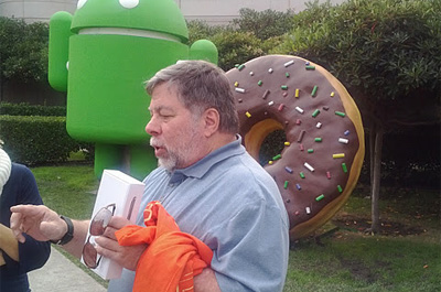 Steve Wozniak Galaxy Nexus Teaser