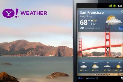 Yahoo! Wetter Teaser