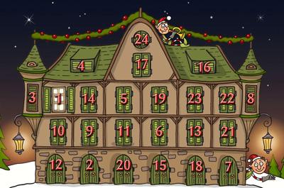Adventskalender 2011 mit Elfen