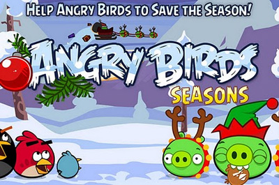 Angry Birds Seasons Wreck the Halls Teaser