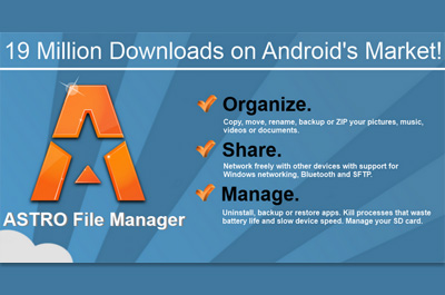 ASTRO File Manager Teaser