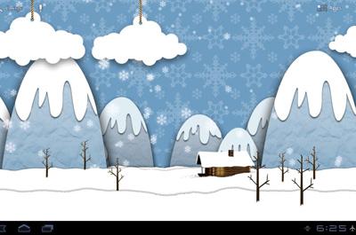 Samsung Parallax Winter LWP Teaser