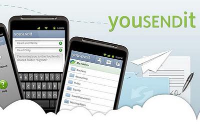 YouSendIt mobile app Teaser