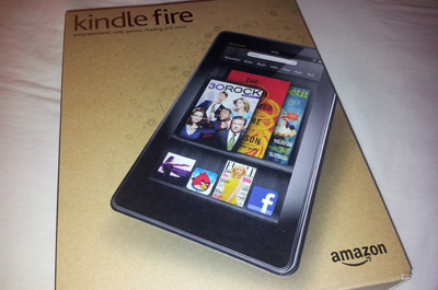 Amazon Kindle Fire Teaser
