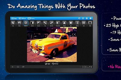 BeFunky Photo Editor - Tablets Teaser