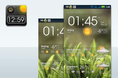 EZ Clock & Weather Widget Teaser