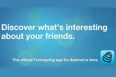 Formspring Teaser