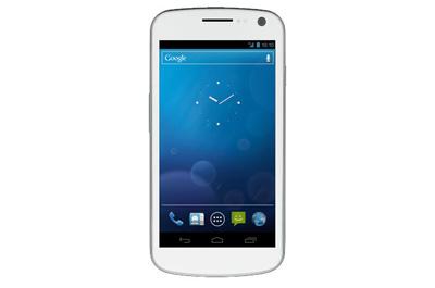 Samsung Galaxy Nexus weiß Teaser