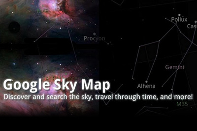 Google Sky Map Teaser