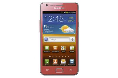 Samsung Galaxy S 2 pink Teaser