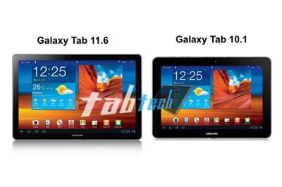 Samsung Galaxy Tab 11.6 Teaser