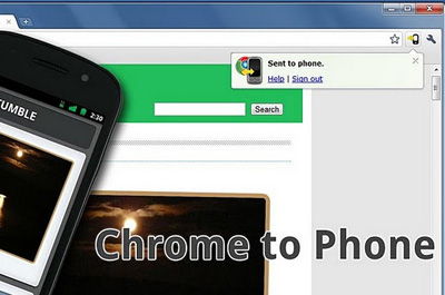 Chrome to Phone Teaser