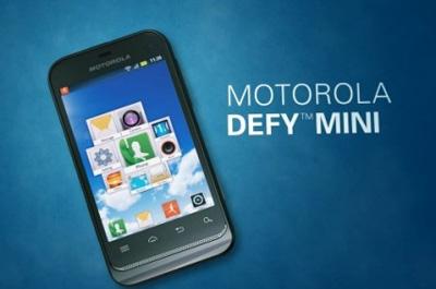 Motorola Defy Mini Teaser