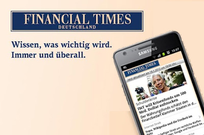 Financial Times Deutschland Teaser