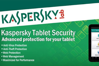Kaspersky Tablet Security Teaser