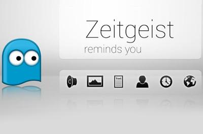 ZEITGEIST Erinnerungs App