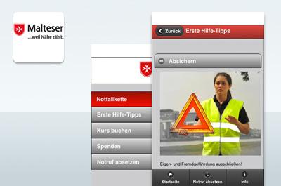 Erste-Hilfe-App Teaser