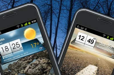 3D Sense Clock & Weather Teaser