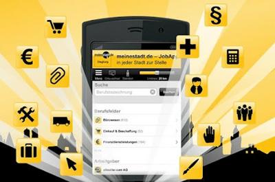 meinestadt.de Job App Teaser