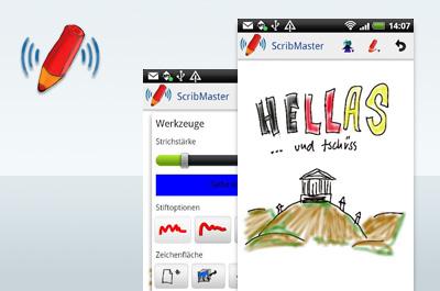 ScribMaster zeichnen & senden Teaser