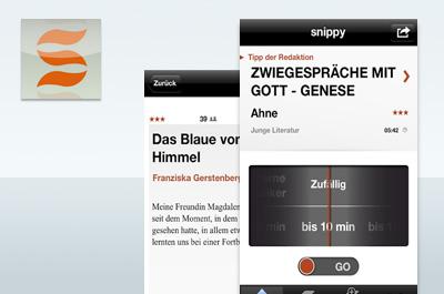 snippy - Hörbuch & Lese-App Teaser
