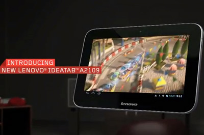 Lenovo IdeaTab A2109 Teaser