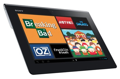 Sony Xperia Tablet S Teaser