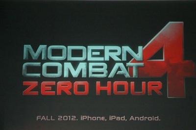 Modern Combat 4 Teaser