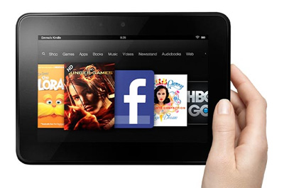 Amazon Kindle Fire HD Teaser