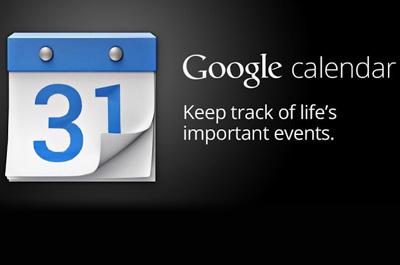 Google Kalender Teaser